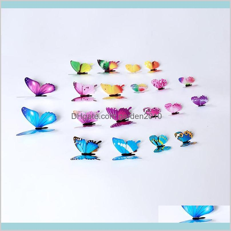 3D Butterfly Wall Stickers 12pcs/Set Home