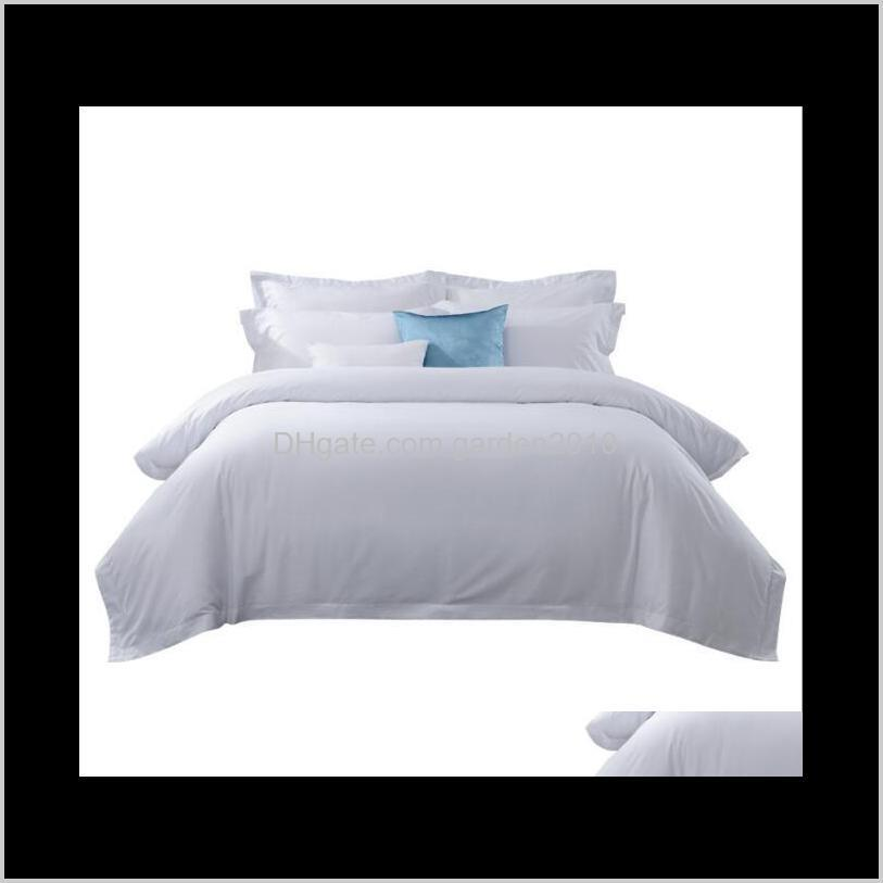 five-star hotels all cotton white bedding sets homestay hotel apartment satin drill sheets and quilts bedding supplies home textiles