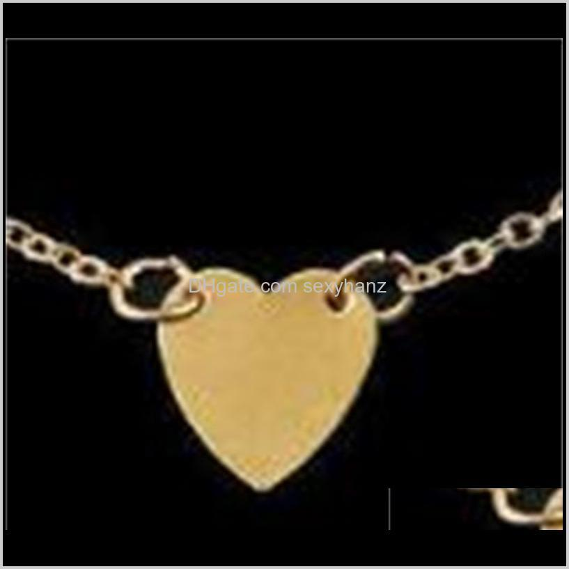 girl fashion simple heart ankle bracelet chain beach foot sandal jewelry c00021 smad 518 t2