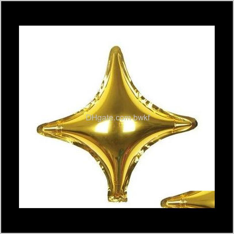 10 inch 26 inch 36 inch star aluminum foil balloon baby decoration star balloon background wall layout