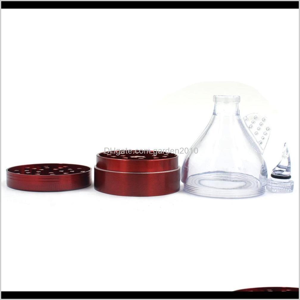 herb metal ginder 50mm 4 layer tobacco grinder with zinc alloy cnc teeth pepper grinders wholesale