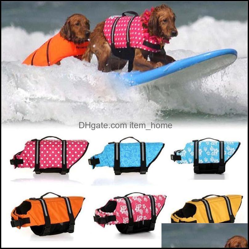 Dog Apparel Puppy Rescue Swimming Wear Safety Clothes Vest Suit XXXS-XXL Outdoor Pet Float Doggy Life Jacket Vests