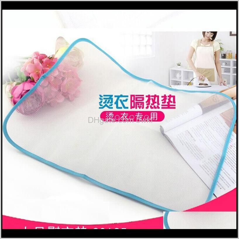 high temperature resistance ironing scorch heat insulation pad mat household protective mesh cloth cover