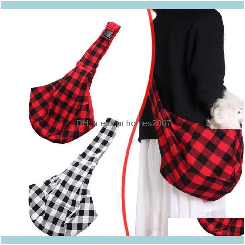 Pet Dog Travel Carrier Crossbody Bag Puppy Cat Breathable Portable Shoulder Bags Soft Material Good Air Permeability 75*45cm