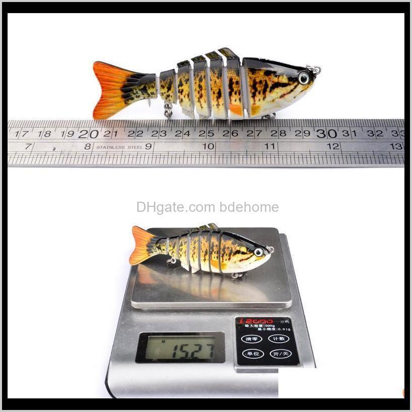 12cm 15g wobbler fishing lure sea pike fish lure swimbait crankbait isca artificial bait with hook fishing tackle pesca hard bait 7