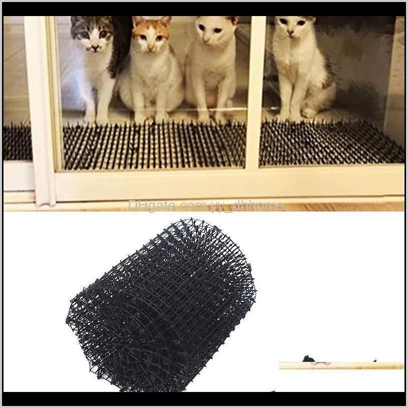 garden balcony anti-cat anti-dog mat cat scat mat plastic prickle net digging stopper keep cat dog away hyd88