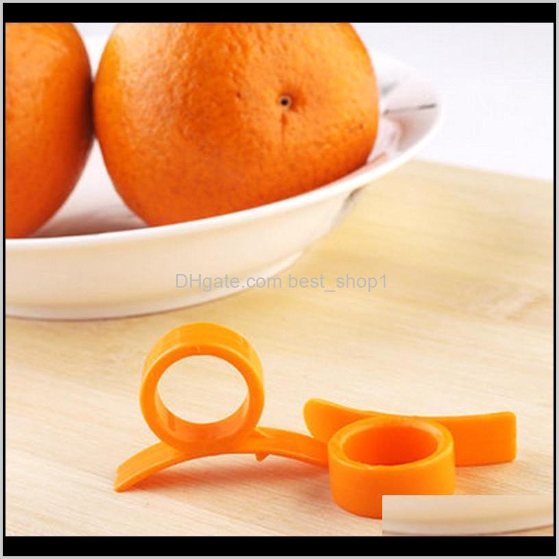 orange peelers zesters device samll practical finger type orange stripper opener fruit vegetable tools kitchen gadgets