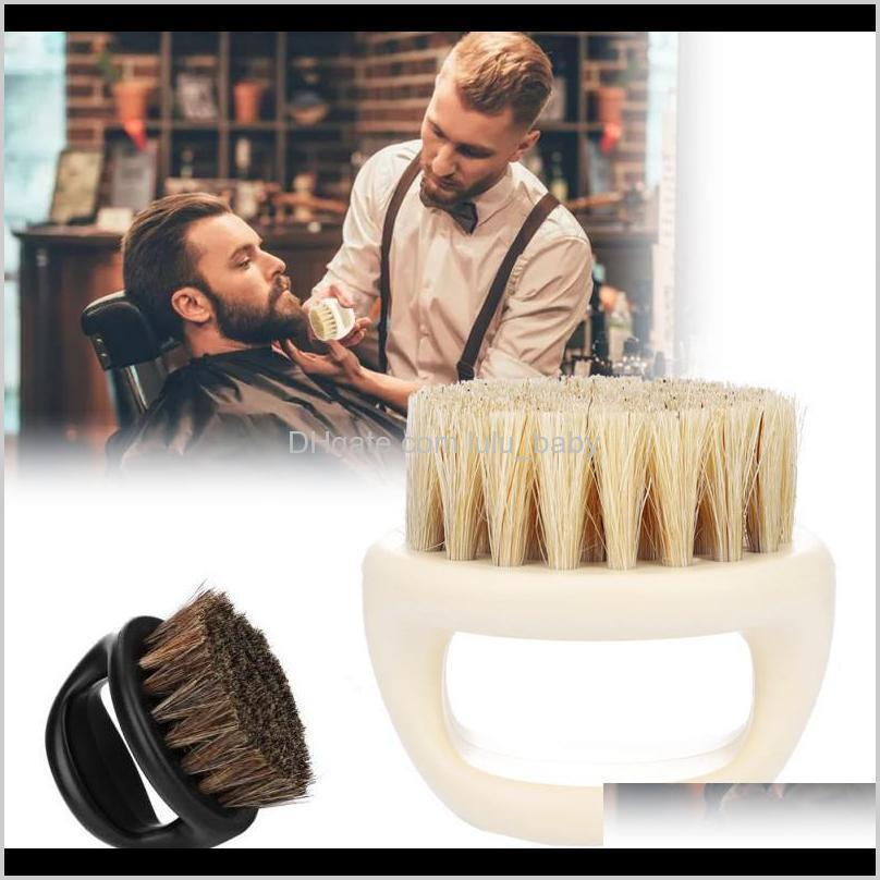 wild boar fur soft men beard shaving brush barber salon facial cleaning shave tools razor brush with handle styling accessory