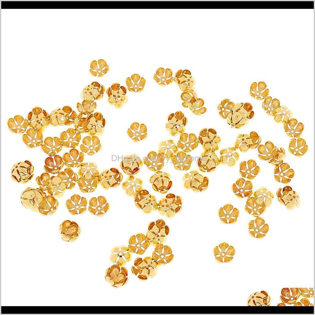 100pcs flower bead caps beaded jewelry parts
