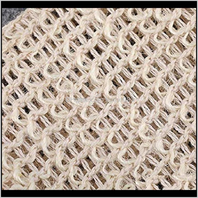 2021 Natural Exfoliating Mesh Soap Saver Sisal Soap Saver Bag Pouch Holder For Shower Bath Foaming And Drying Free DHL