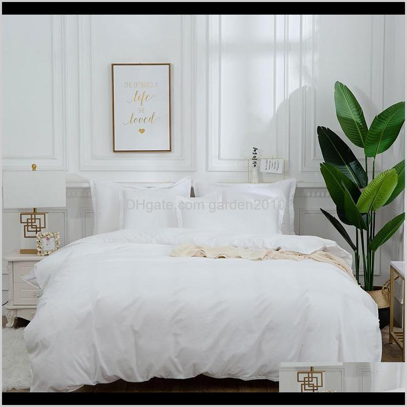 bedding set luxury soft bed linens duvet and pillowcases comforter bedding sets queen king size cotton bed cover set1