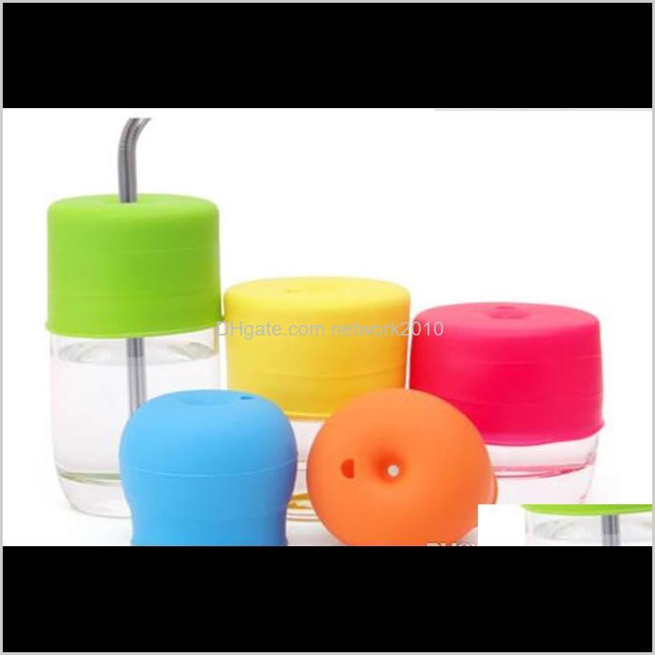 silicone sippy lid nipple lids for any size kids mug & toddlers leakage cup for infants and toddlers bpa shipping