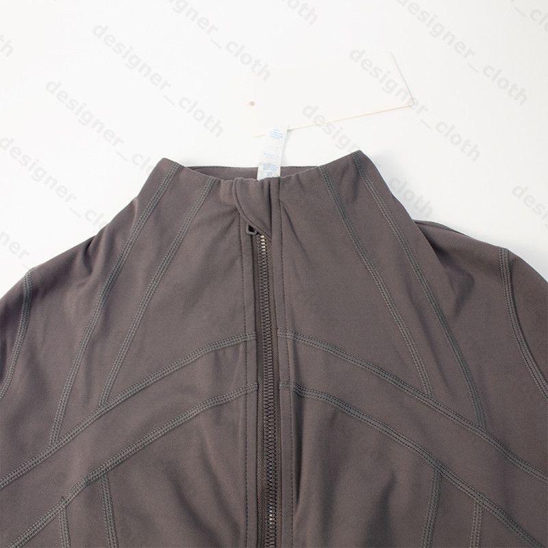 luluSudaderas con capucha de chaquetas de yoga con capucha para mujer diseñadores deportes chaqueta abrigos de doble cara lijado fitness chothing hoodies de manga larga ropa