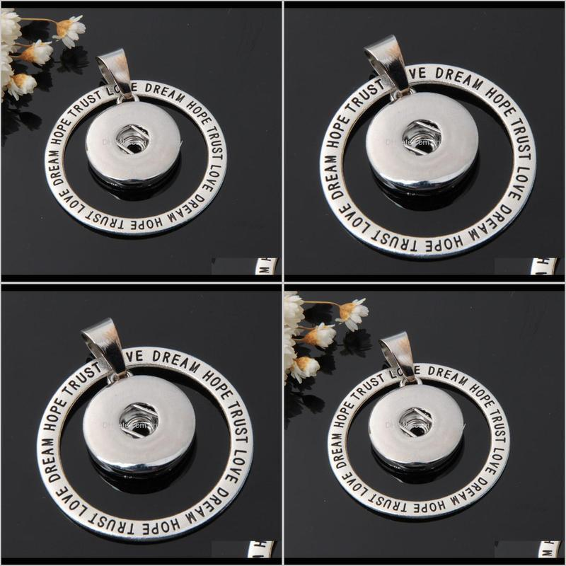 letters dream diy making metal ginger silver 18mm snap button charms connectors for snap button jewelry findings necklace and bracelet
