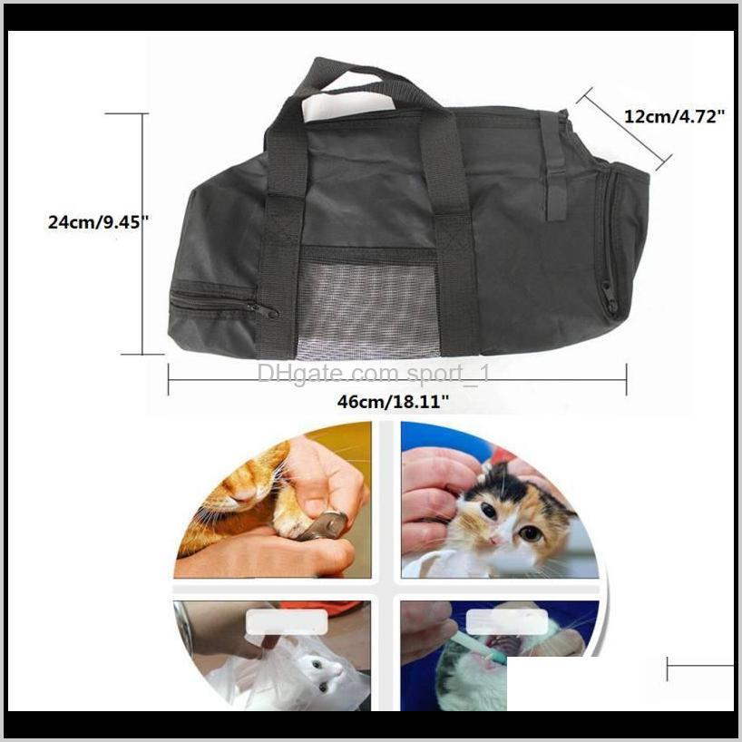 2020 new cat grooming bag cat restraint bag grooming accessory pet supply