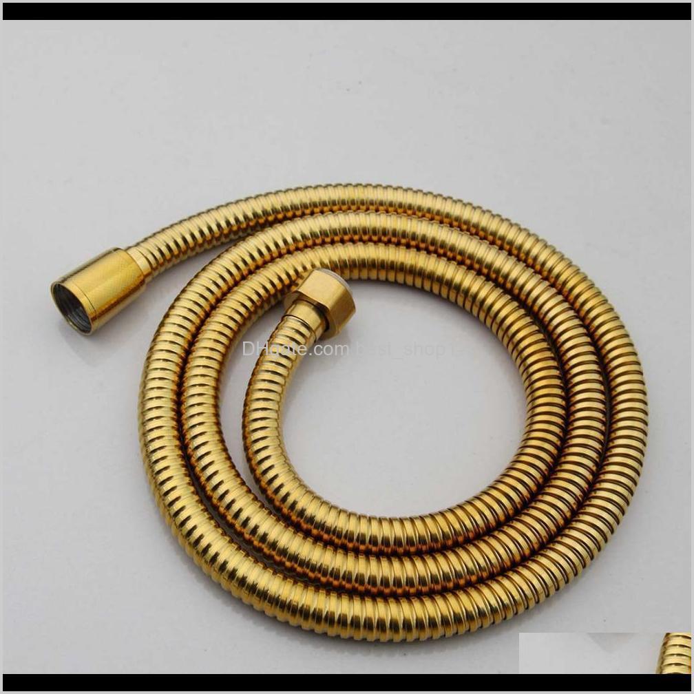 kemaidi brass handle rain spray water saving head for bathroom accessories gold shower hose plastic white 200925
