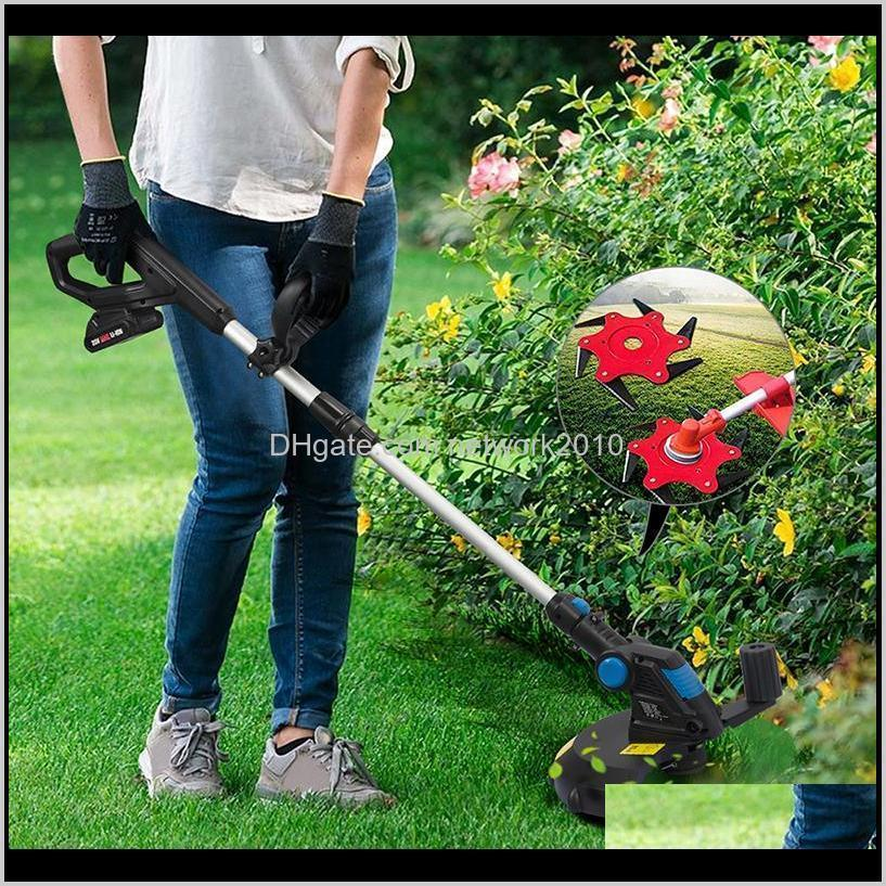 garden lawn mower blade manganese steel grass trimmer brush cutter head 6 tooth brush cutter brushcutter for lawn mower tools parts