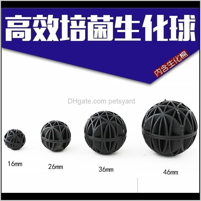 Bio Balls For Aquarium Pond Canister Clean Fish Tank Filter With Biochemical Wet Dry Cotton Ball Anti Bacteria Filter Media 0 8bb F