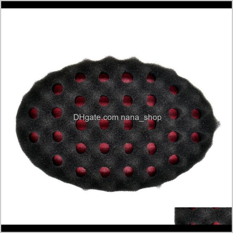 magic twist hair brush sponge afro curly weave oval double sided flat large hole wavy small hole dreads sponge brush