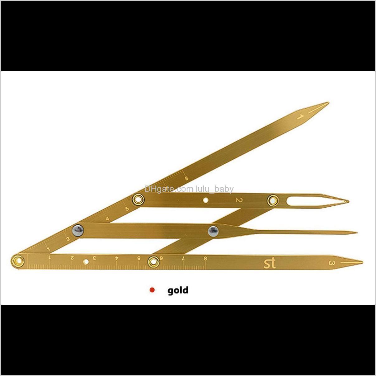stainless steel golden ratio microblading permanent makeup eyebrow measure tool mean golden eyebrow divider