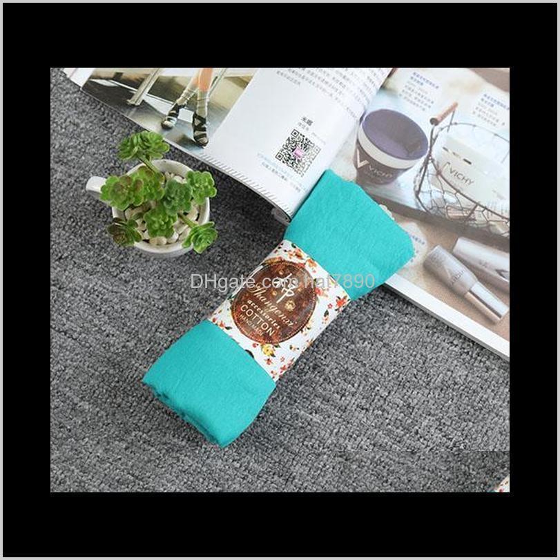 2020 Women Autumn Winter Scarf Cape Luxury Warm Solid Linen And Cotton Fashion Female Multi-purpose Autumn Winter Shawl