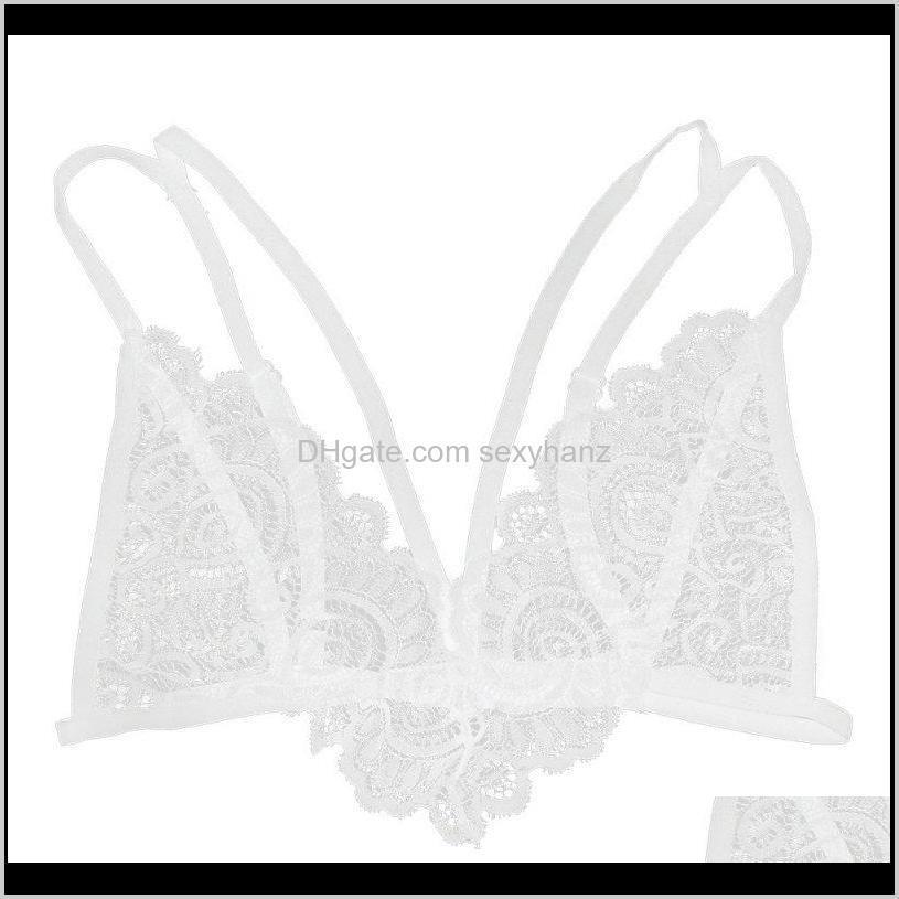 women`s girls lace floral bralette lady crop tops cami unpadded tank tops underwear 1gph#