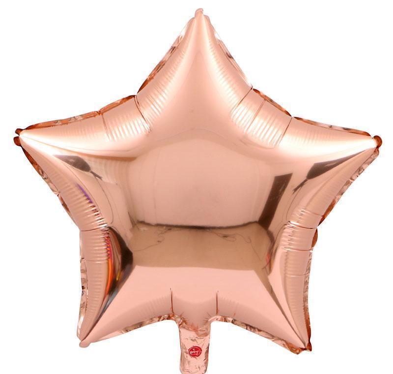 wholesale 18 inch star shape balloons 50pcs/lot multicolor aluminium foil birthday balloons wedding party decorations