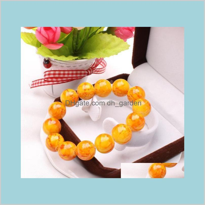 cracks bead bracelet luxury jewelry best friend hot popular classic elastic rope charms bracelets