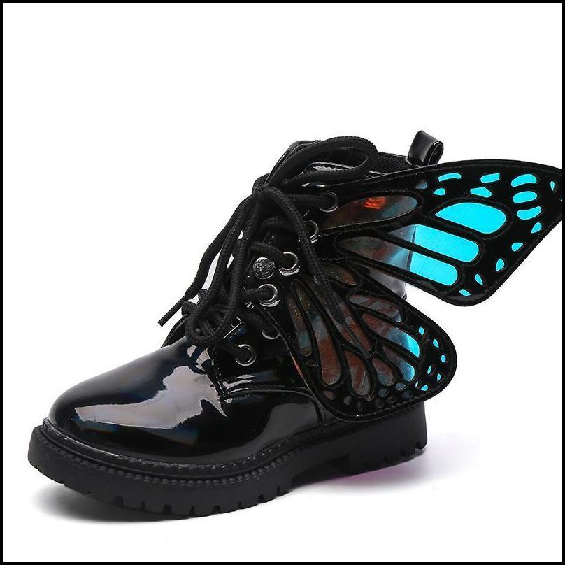 Winter Children Shoes PU Leather Waterproof