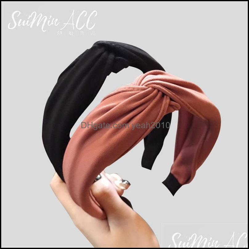 Newest Pure Color Womens Hair Band Ins Hot Cute Shining Yoga Hairband Tide 10 Colors Sport Hairbands Free Shipping