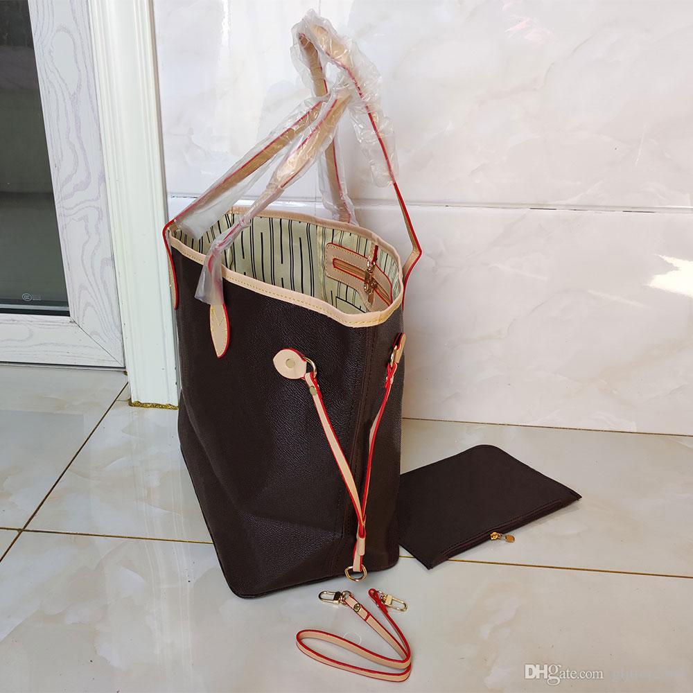 Top quality Paris style Womans shoulder bags purse two-piece designer Totes Fashion flower handbag wallets high-end Leather handbags 45CM shop bag 40156 glitter2009
