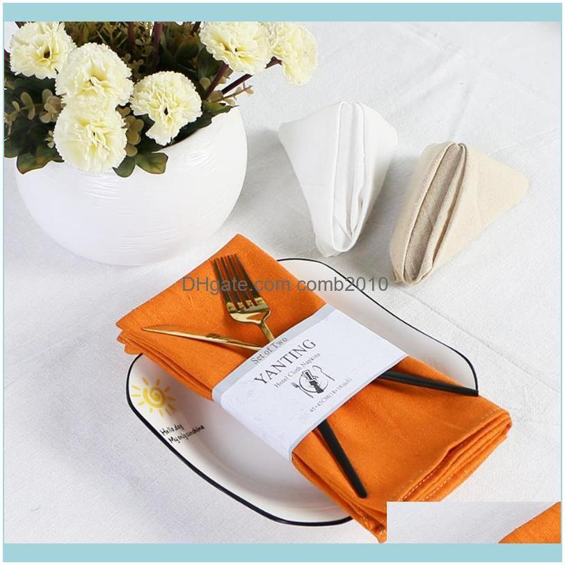 Cloth Napkins, 18 X Inch Solid Washable Polyester Dinner Set Of 6 Napkins With Hemmed Edges, For Weddings, Holiday Table Napkin