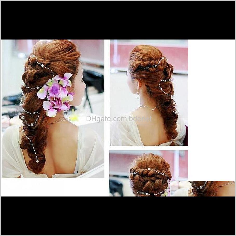 flower bride hairddress jewelry weddding decoration handmade pearls wedding dress acessories studio photography headdress