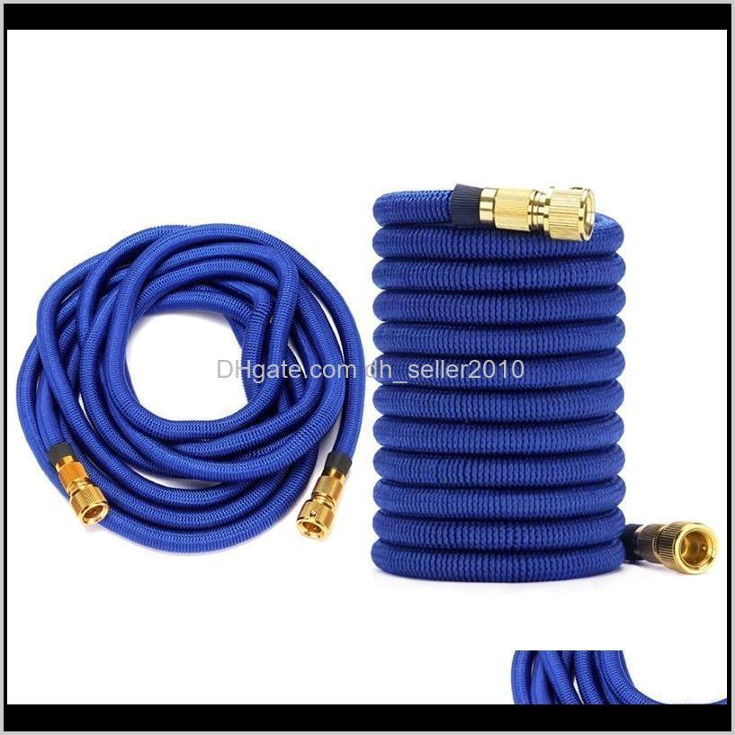 2x 100ft /50ft garden hose water expandable watering hose high pressure car wash flexible garden pipe