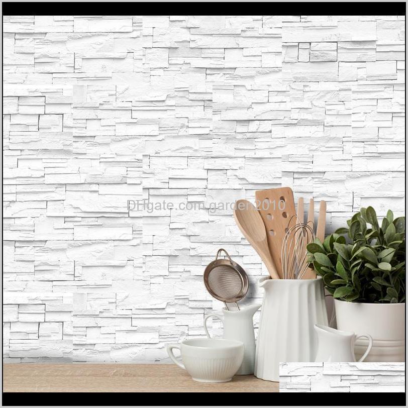 3d brick wall stickers wallpaper decor foam waterproof wall covering wallpaper for kids living room diy background new1