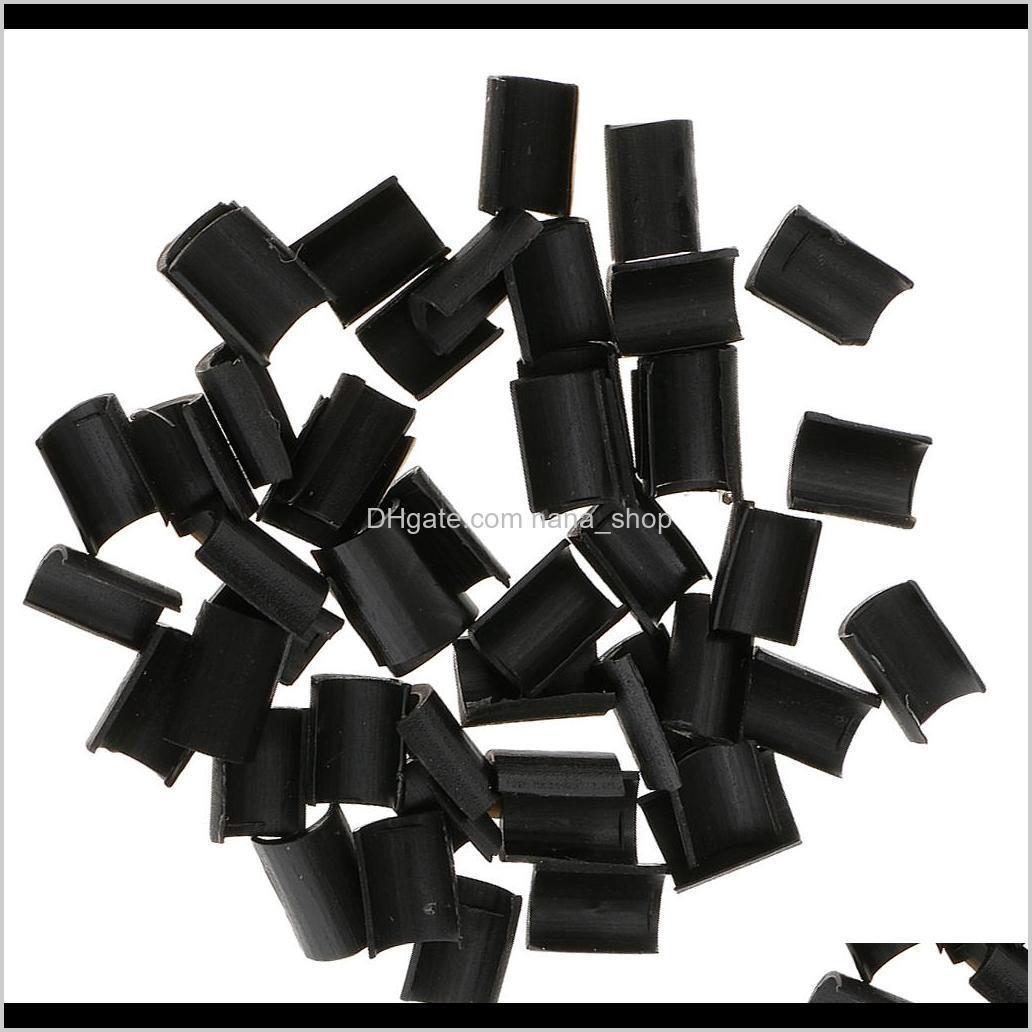 200pcs diy keratin granule beads hair extensions wigs rebond hot fusion glue set