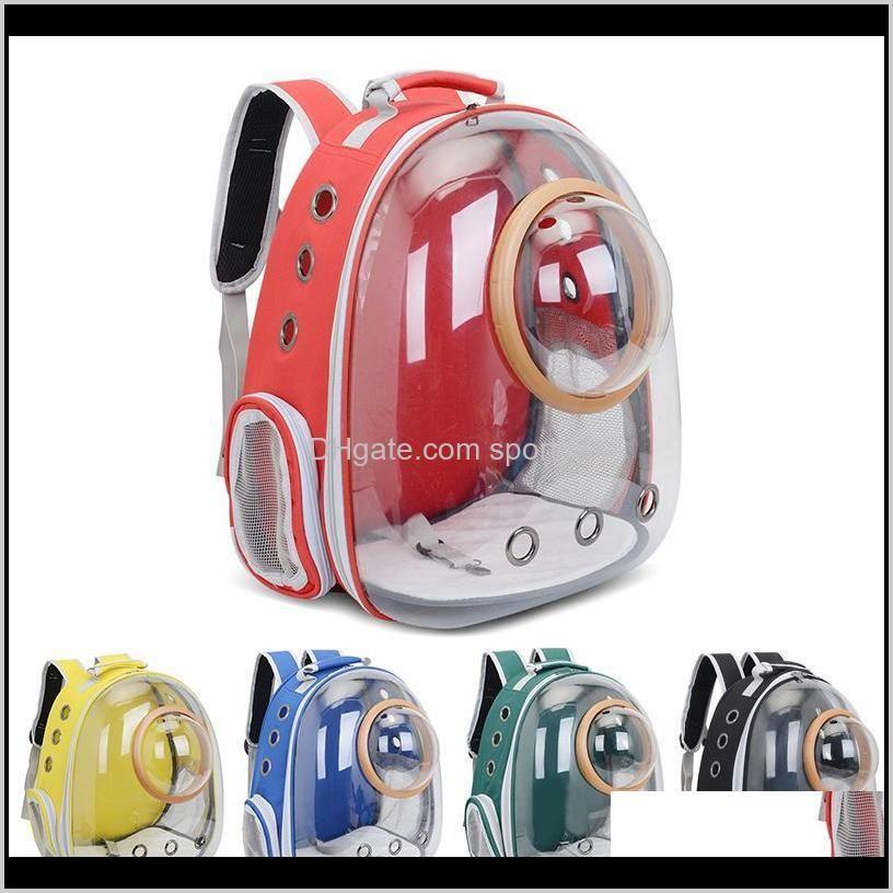 pet carrier backpack astronaut space breathable car bike window bubble cat dog travel carry bag transparent