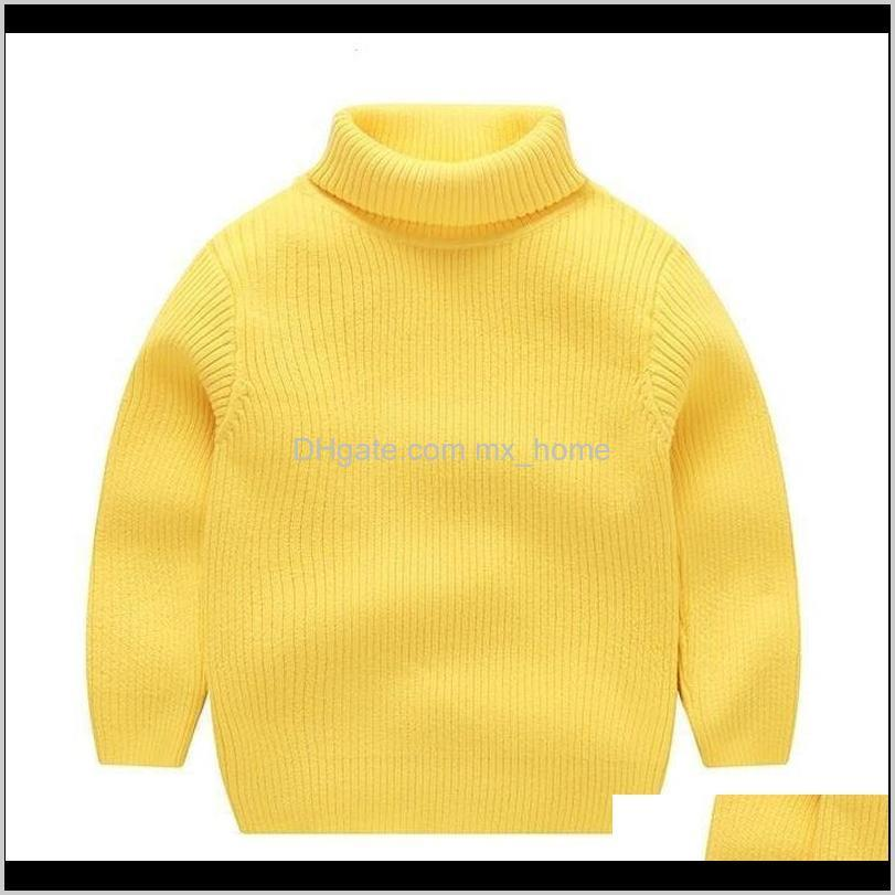 boys&girls sweater new boys tops knitwear warm pullover turtleneck kids sweater baby girl winter clothes soft cotton,#5702 201103