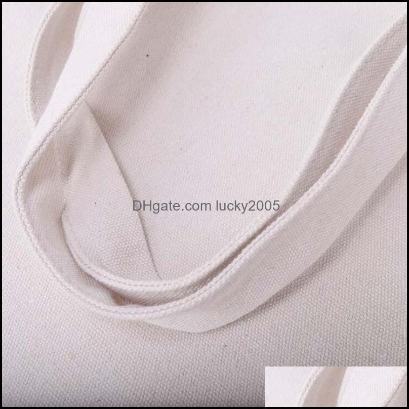 Black/White Blank pattern Canvas Shopping Bags Eco Reusable Foldable Shoulder Bag Handbag Tote Cotton Tote Bag
