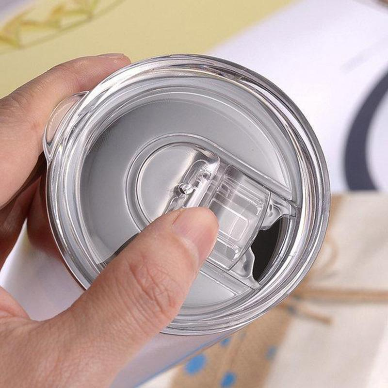 GERADE! 20 Unzen Sublimation dünne Tumbler mit strohem Edelstahl Wasserflaschen doppelt isoliert Outdoor-Becher Tassen DHL Versand FY4275