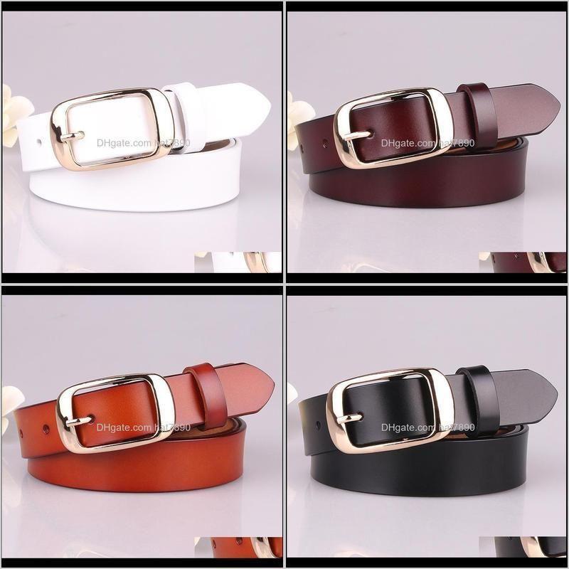 Fashion ladies Real leather belt simple women`s belt multi color PY121