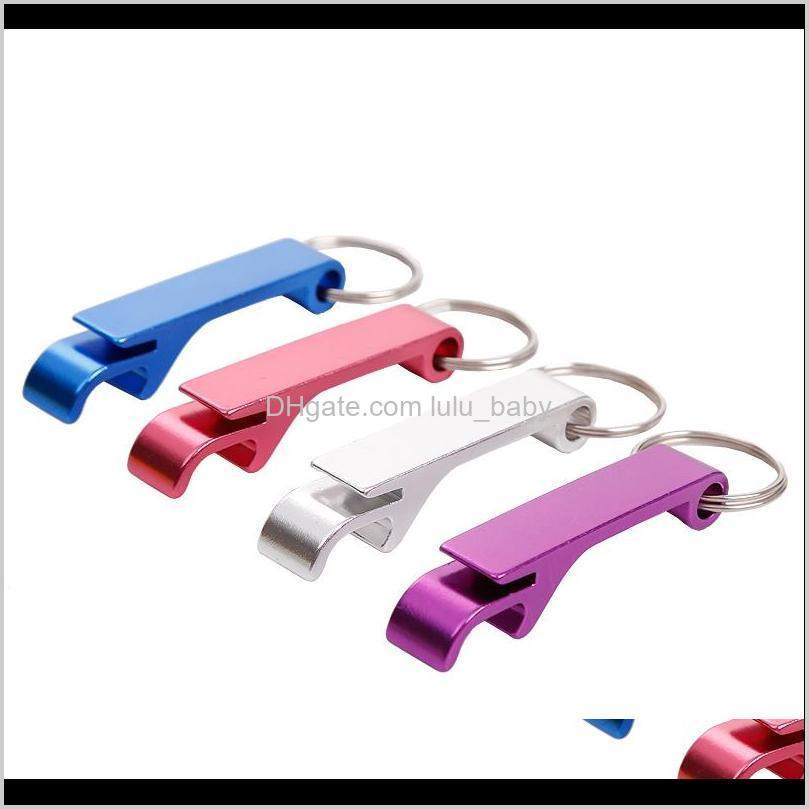 key chain metal aluminum alloy keychain ring beer can bottle opener openers tool gear beverage custom personalized key ring