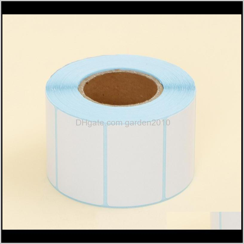 adhesive thermal label sticker paper blank label direct print size 50x30mm 800pcs/set
