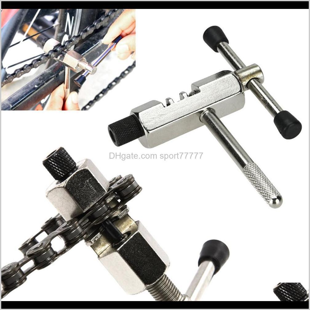 bicycle chain rivet repair tool breaker splitter pin remove replace bike chain breaker