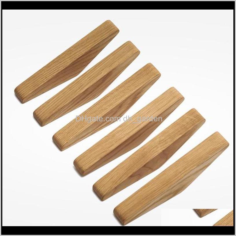 2-10 pcs wood vintage coat hook rack kitchen bath wall mount clothes hat hanger towel robe hooks shelf whit screw & rails
