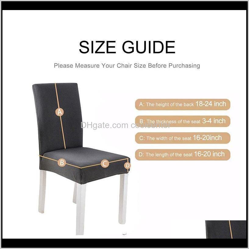 modern high quality stretchable elastic back dining room chair covers for chairs kitchen office wedding