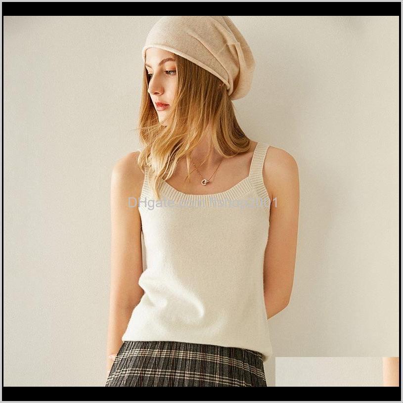 winter autumn 100% cashmere hat solid color fashion super warm soft pure cashmere hat women knitted head