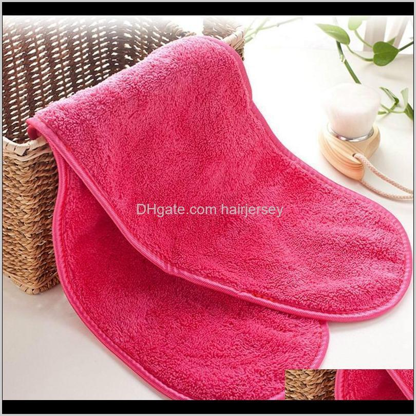 microfiber towel women makeup remover reusable towels face cleaning cloth beauty accessories nhe5986