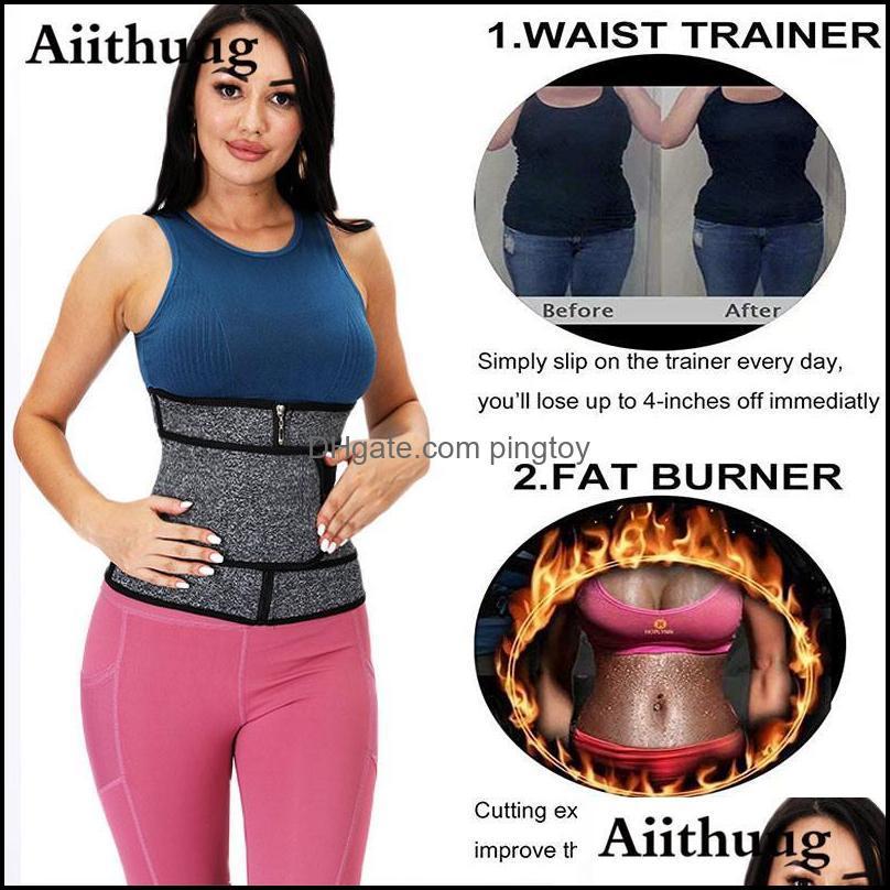 Waist Support Aiithuug Fitness Trainer Back Lumber Belts Modelling Strap Weigght Loss Girdle Belt Workout