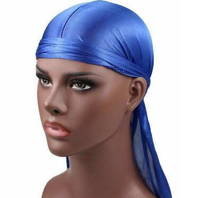 2018 new fashion men`s satin durags bandana turban wigs men silky durag headwear headband pirate hat hair accessories k3637